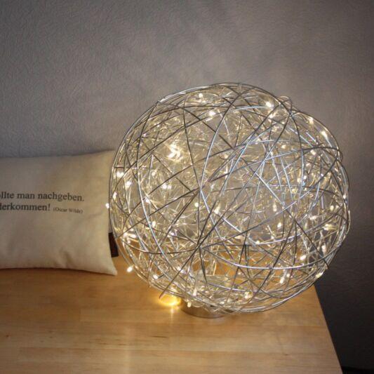 Lampadaire-Draht-40cm-LED-Aluminium