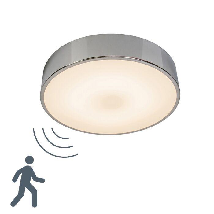 Plafonnier-Motion-II-LED-en-aluminium-avec-détecteur-de-mouvement-à-micro-ondes