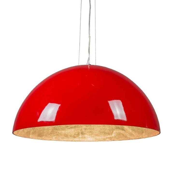 Magna-Glossy-suspension-70cm-rouge-avec-argent