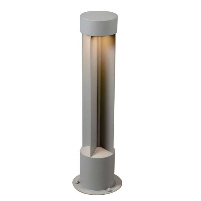 Lampe-d'extérieur-Reda-ronde-gris