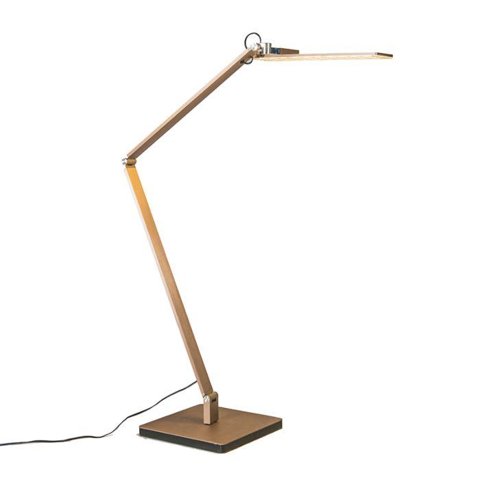 Lampe-de-table-Libro-en-or-rosé
