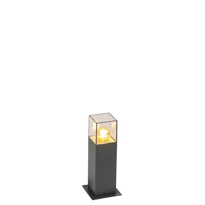 Lampe-d'extérieur-moderne-30-cm-anthracite-IP44---Danemark