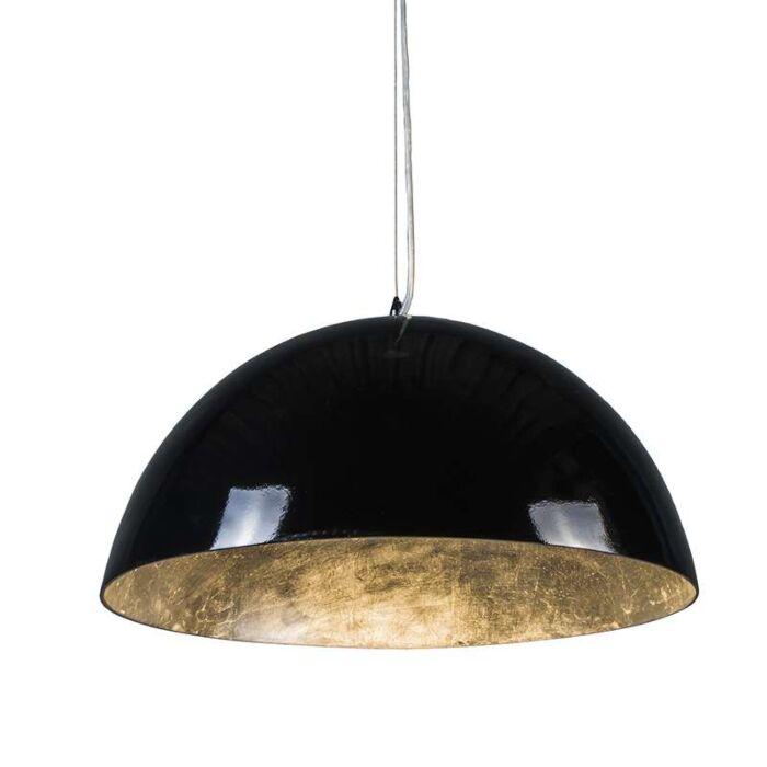 Magna-Glossy-suspension-55cm-noir-avec-argent