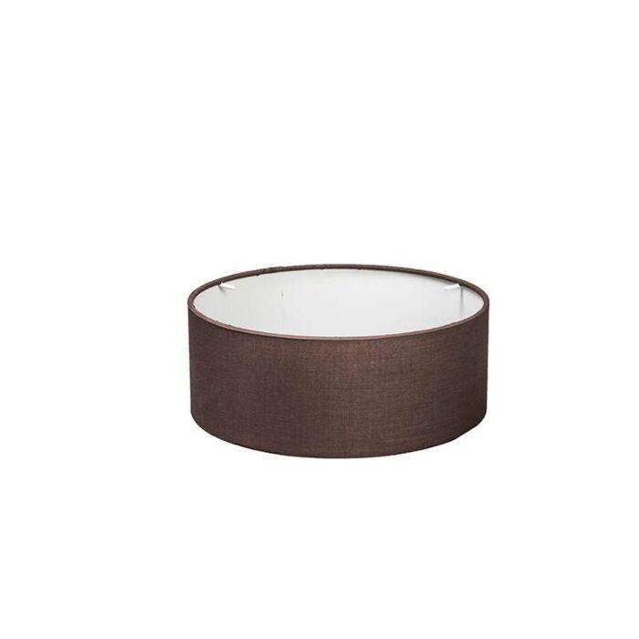 Hood-30/30/11-marron-pour-plafonnier-Drum