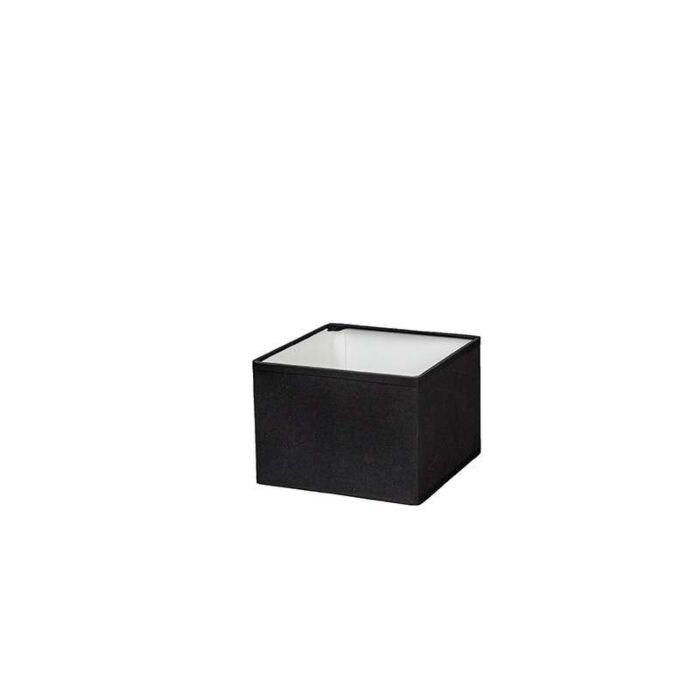 Couverture-carrée-17/17/12-noir-E14