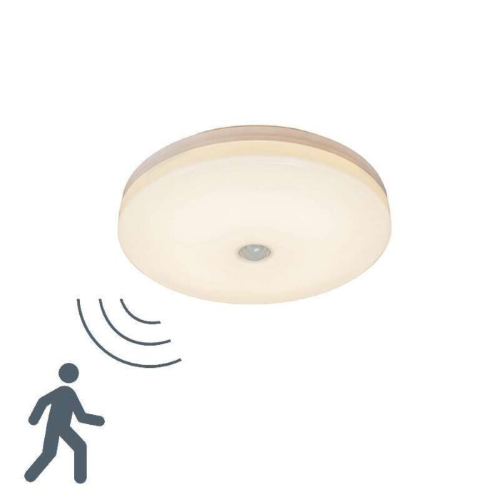 Plafond-Motion-V-14W-LED-avec-détecteur-de-mouvement-IR