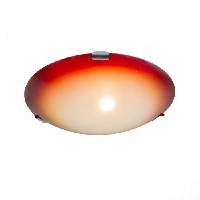 Plafonnier-Philipp-30-jaune-avec-orange