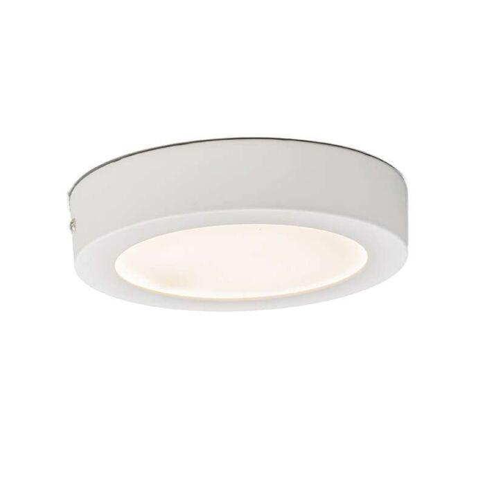 Plafonnier-Plate-12W-LED-rond-blanc