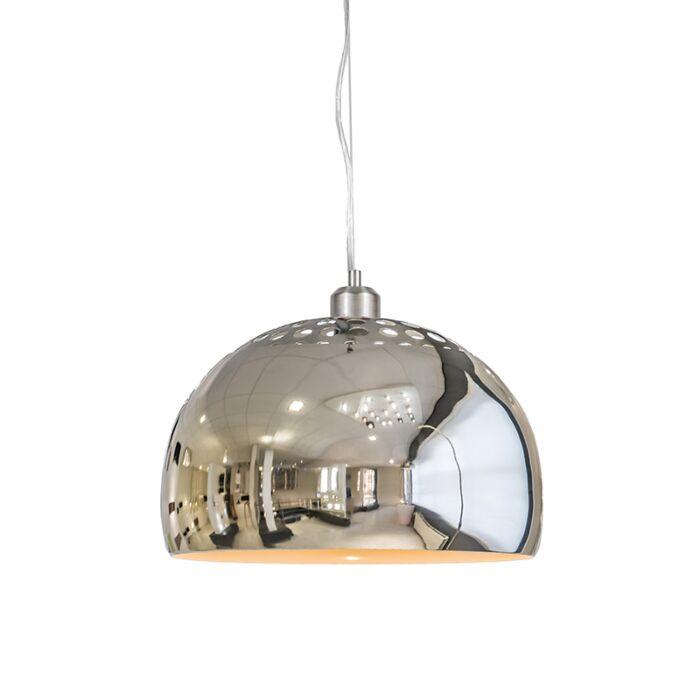Suspension-Globe-33cm-chrome