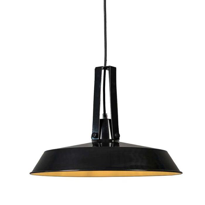 Lampe-Living-40cm-noire