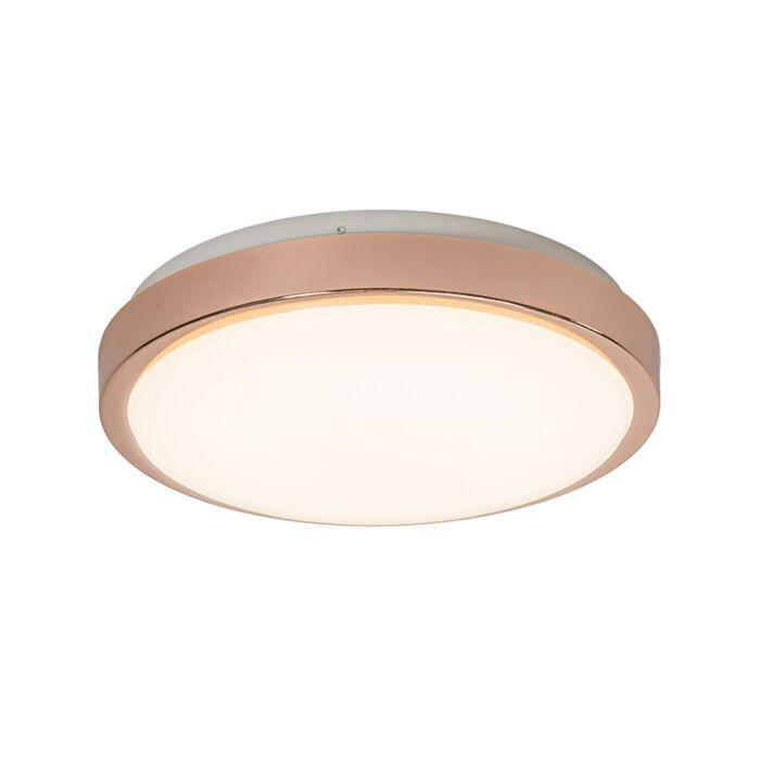 Plafonnier-Avant-12W-LED-cuivre