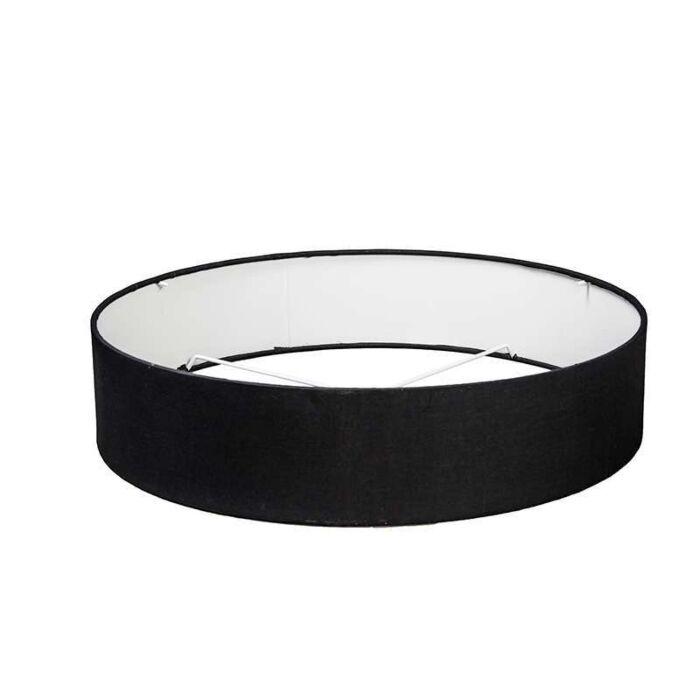 Capuchon-50/50/11-noir-pour-plafonnier-Drum