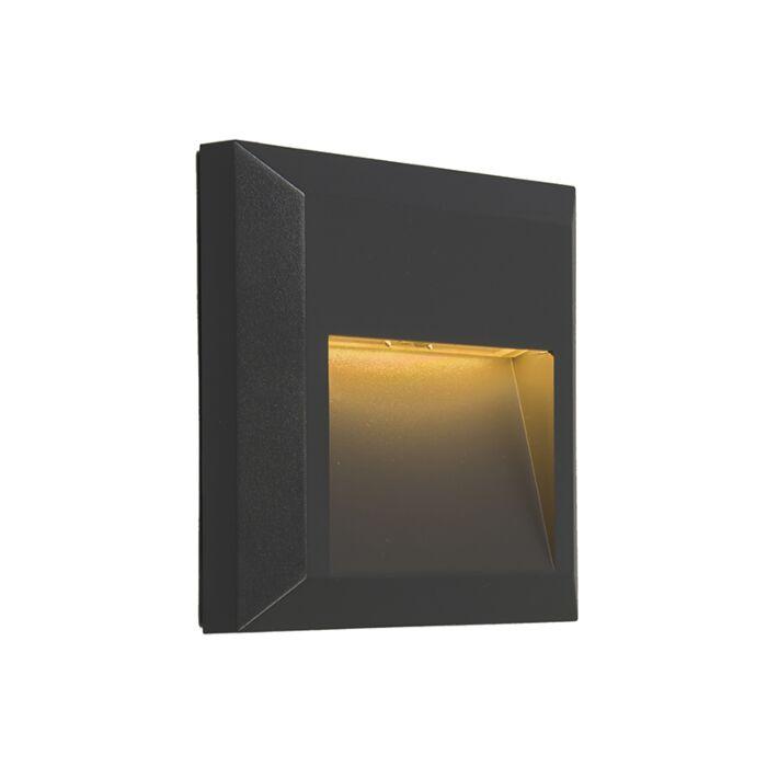 Applique-moderne-gris-foncé-avec-LED---Gem-2