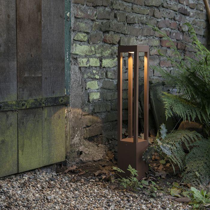 Lampe-d'extérieur-Krosno-square-rouille