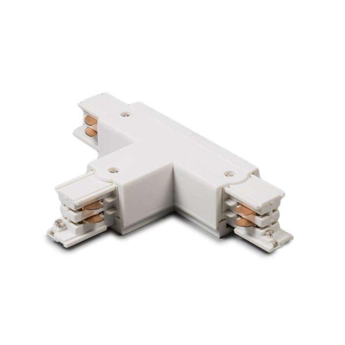 Rail-Jonction-T-3-phases-Gauche-blanc