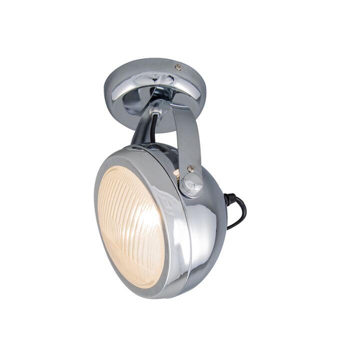 Spot-de-plafond-/-mur-Biker-1-chrome
