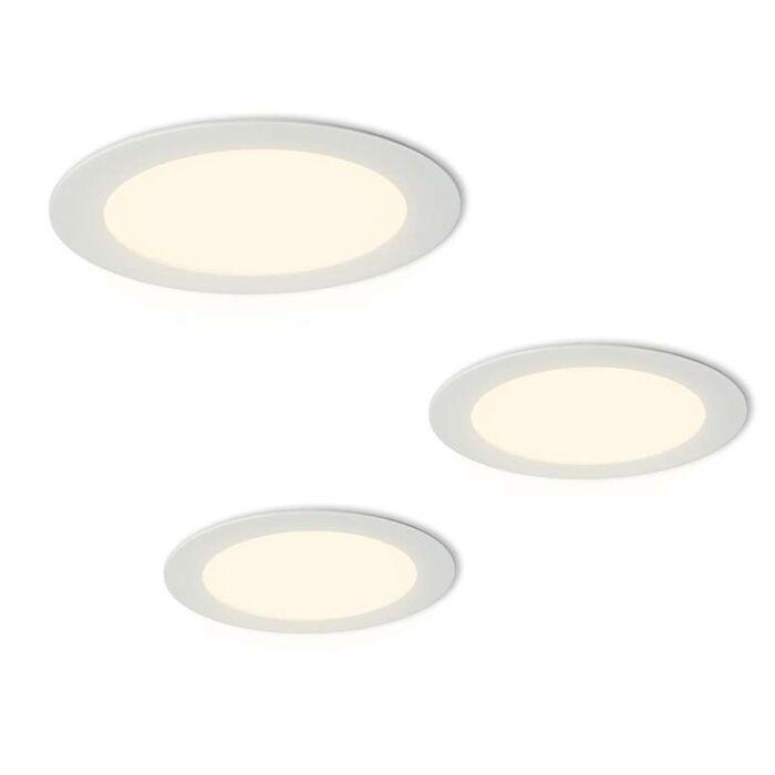 Radem-set-d'installation-de-3-spots-à-LED-blanc
