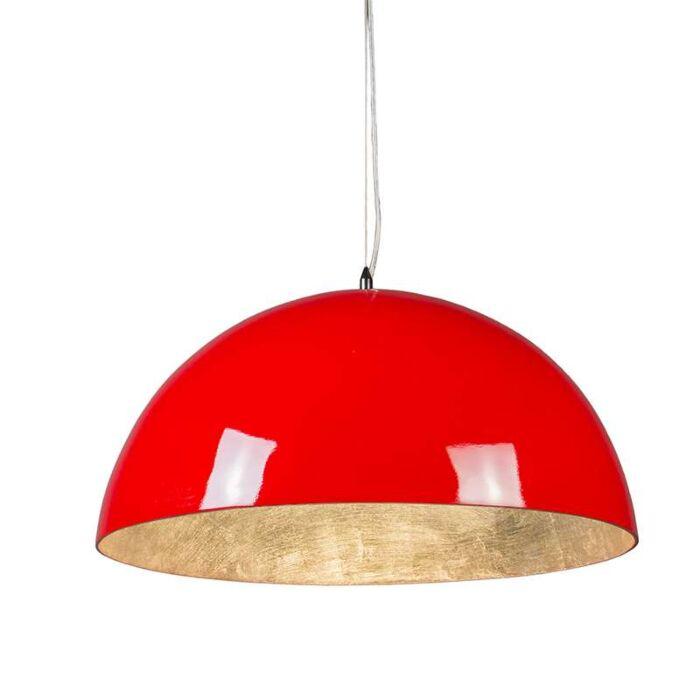 Magna-Glossy-suspension-55cm-rouge-avec-argent