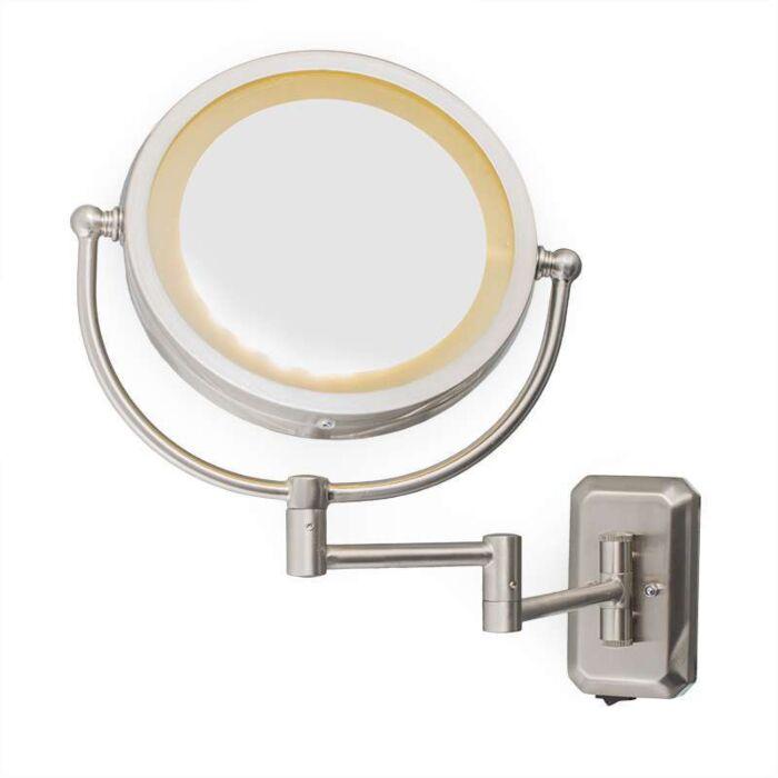 Miroir-grossissant-ME-mural-LED-acier