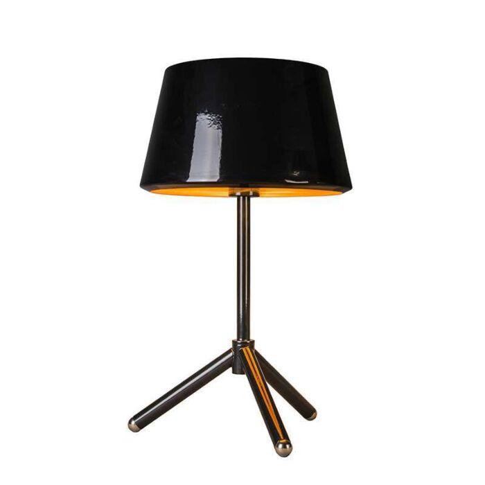 Lampe-de-table-Vegas-noir-avec-or