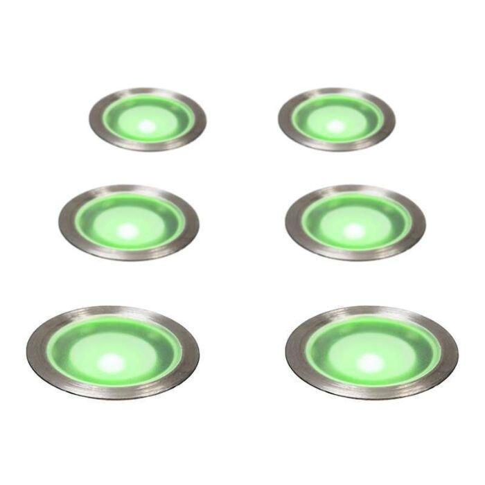 Jeu-d'installation-de-6-Guard-IP67-Vert
