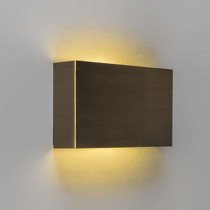 Applique-Otan-bronze-LED