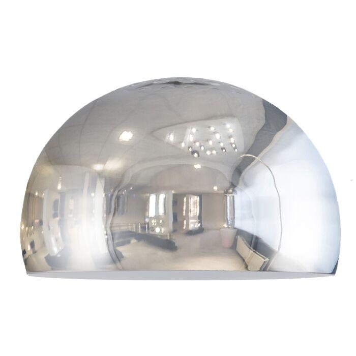 Abat-jour-Globe-33cm-chrome