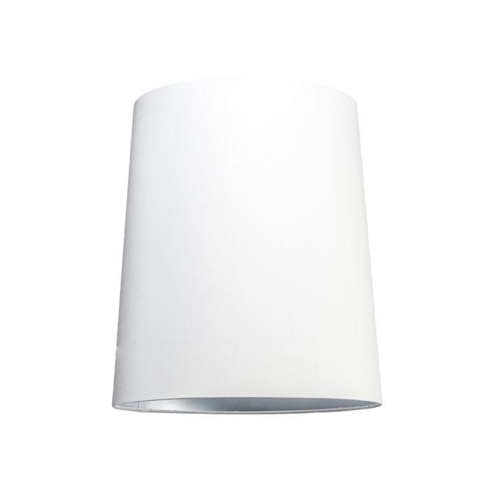 Capuche-35cm-autour-du-SU-E27-blanc-argent