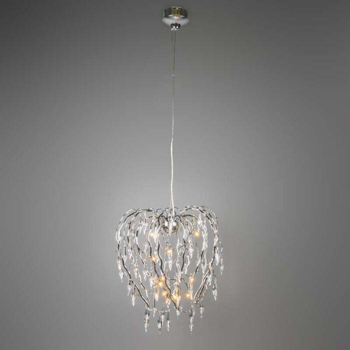 Willow-12-lampe-à-suspension-chrome