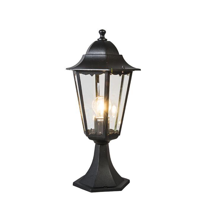 Lanterne-d'extérieur-classique-base-noire-IP44---New-Orleans