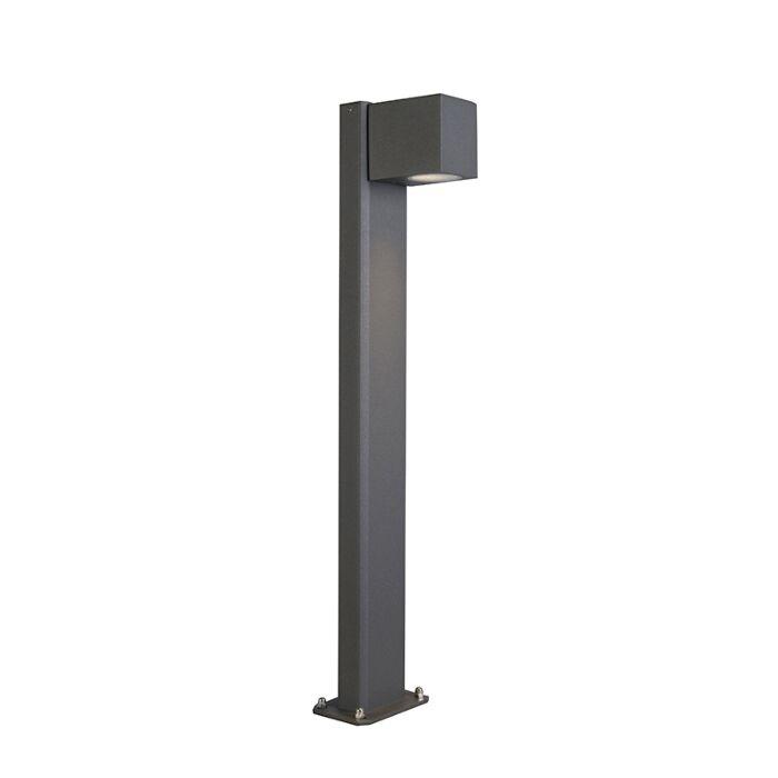 Lampe-d'extérieur-sur-pied-industrielle-anthracite-65-cm-IP44---Baleno