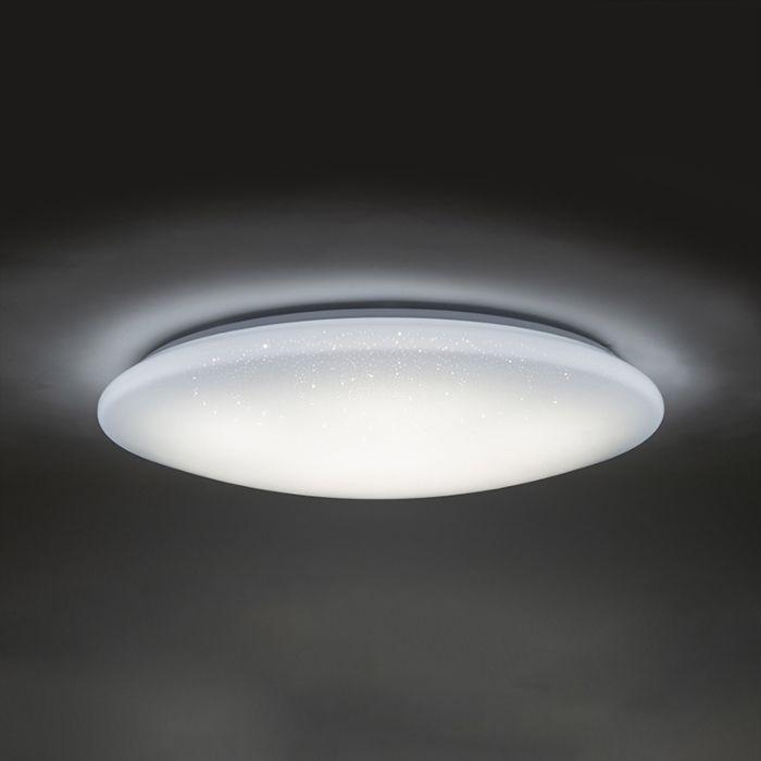 Plafonnier-LED-effet-étoile-80cm-avec-télécommande---Extrema