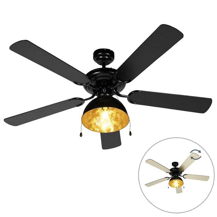 Ventilateur-de-plafond-industriel-noir---Magna