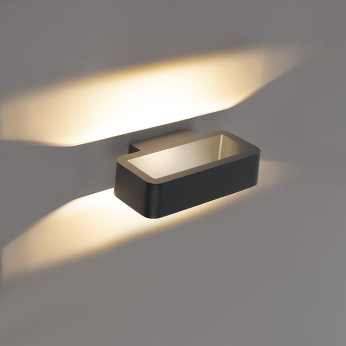 Applique-design-anthracite-avec-LED---Vasso-tres