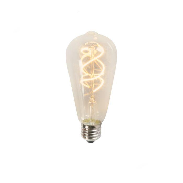 Filament-de-LED-tourné-ST64-5W-2200K-clair