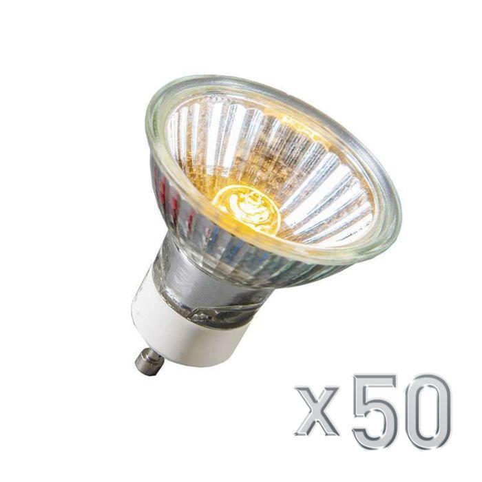 Halogène-GU10-40W-350LM-230V-ensemble-de-50