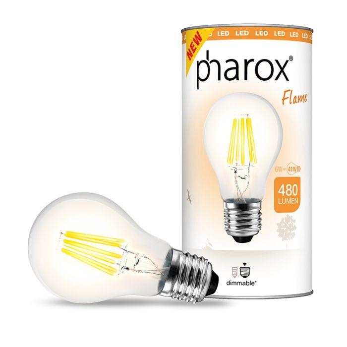 Lampe-Pharox-LED-Flame-E27-6W-480-lumens