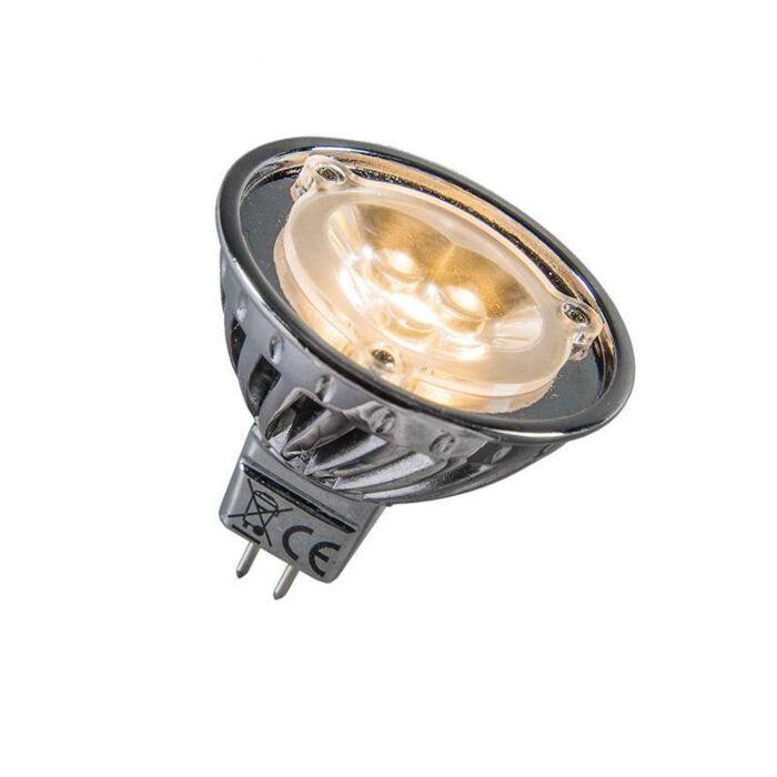 LED-de-puissance-12V-MR16-3-x-1W-=-environ-30W-blanc-chaud