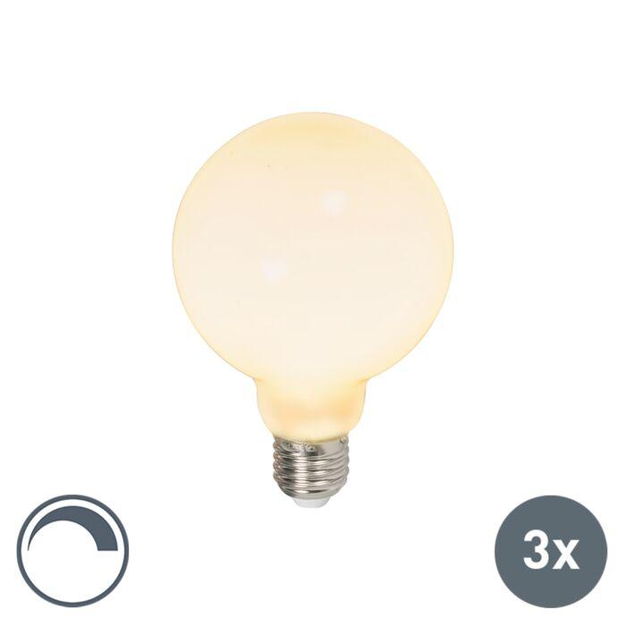 Lot-de-3-ampoules-LED-E27-G95-dimmables-6W-650lm-2700-K