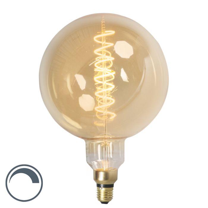 Lampe-à-filament-LED-E27-dimmable-globe-MEGA-4W-200lm-2100-K