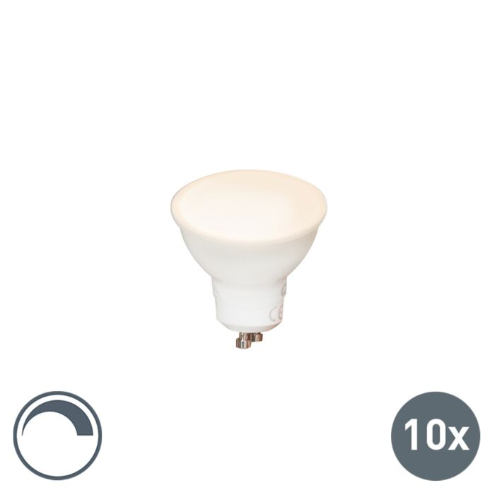 Lot-de-10-lampes-LED-GU10-dimmables-6W-450-lm-2700K