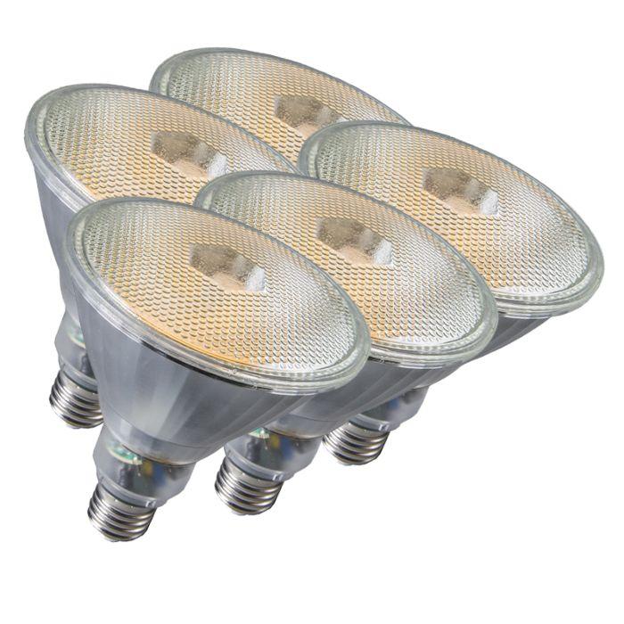 Ensemble-de-5-lampes-Par38-E27-20W-800LM-2700K
