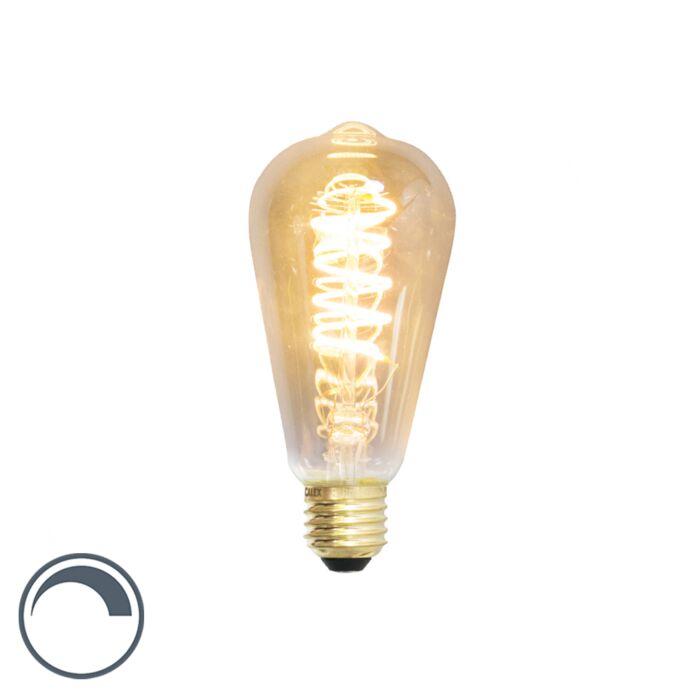 Lampe-à-incandescence-LED-E27-dimmable-ST64-4W-200-lumen-2100K