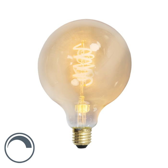 Lampe-à-filament-torsadée-LED-globe-E27-240V-4W-200lm-dimmable