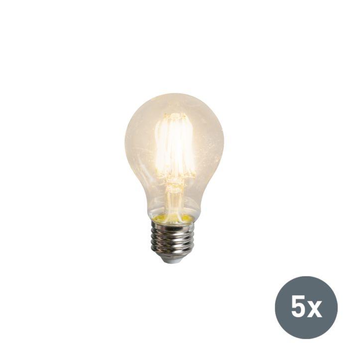 Set-de-5-ampoules-LED-filament-A60-E27-5.5W-600-lumen