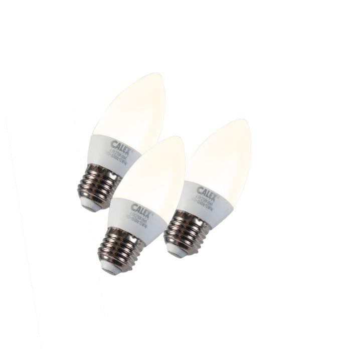 Set-de-3-LED-E27-5W-240V-2700K-dimmables