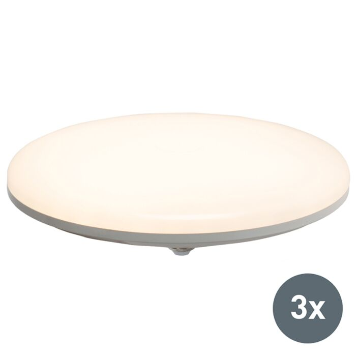 Set-de-3-lampes-à-LED-UFO-E27-36W-blanc-chaud