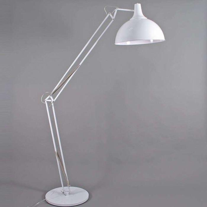 Lampe-à-arc-Hobby-XXL-blanc