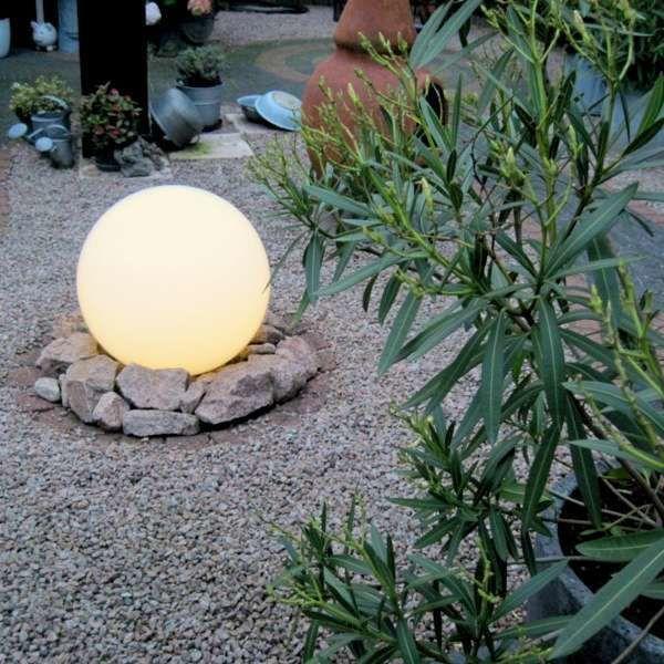 Lampe-d'extérieur-moderne-avec-broche-de-terre-50-cm-IP44---Bol