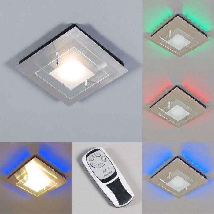 Plaque-de-plafond-GX-RVB-LED-en-acier